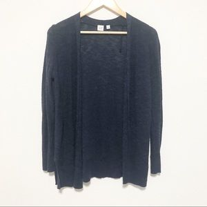 Gap Navy Open-Front Sweater Cardigan Size Small
